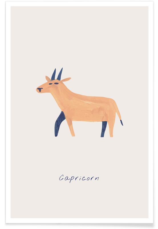 Kunst voor kinderen, Capricorn poster