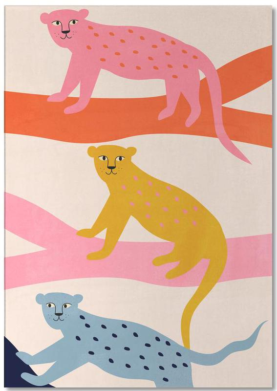 Leopard Tree -Notizblock