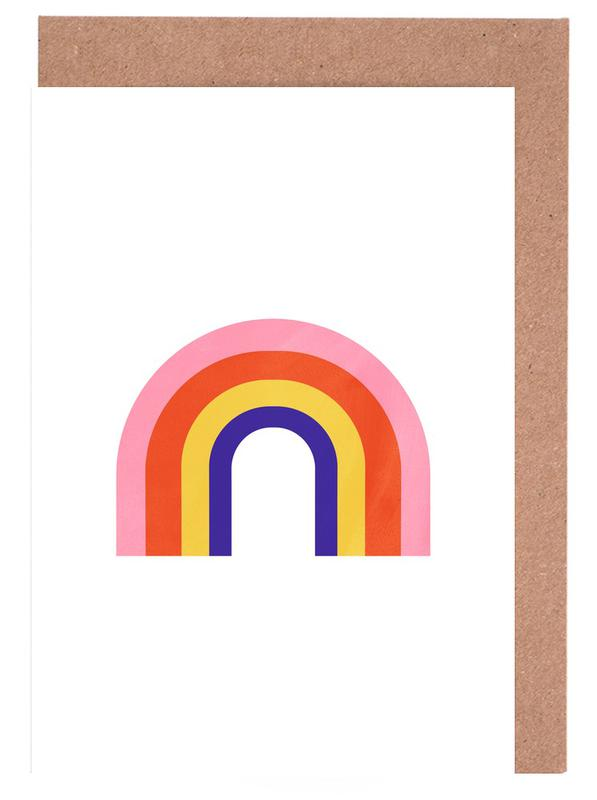 Rainbow -Grußkarten-Set
