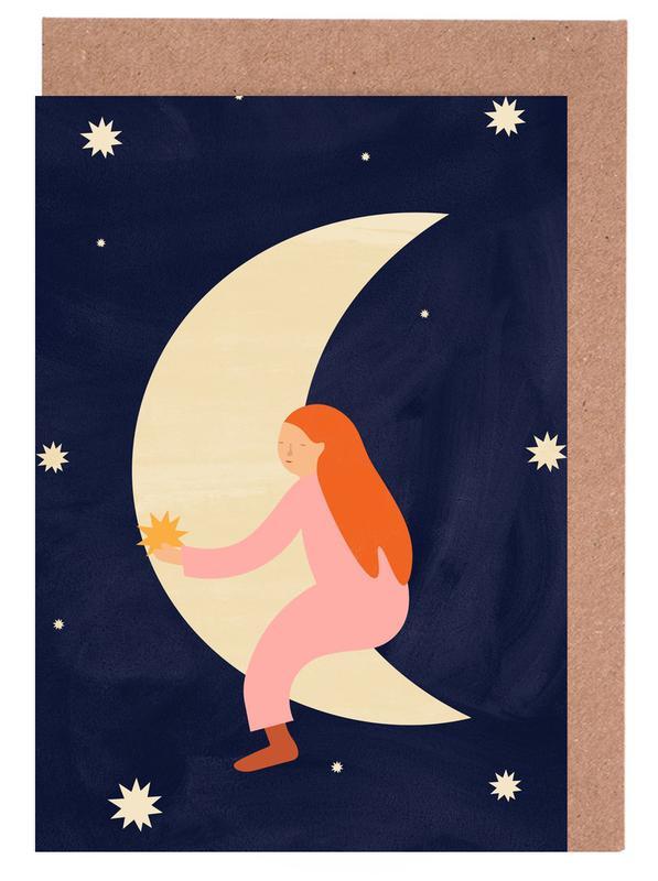 Lullaby Moon Greeting Card Set