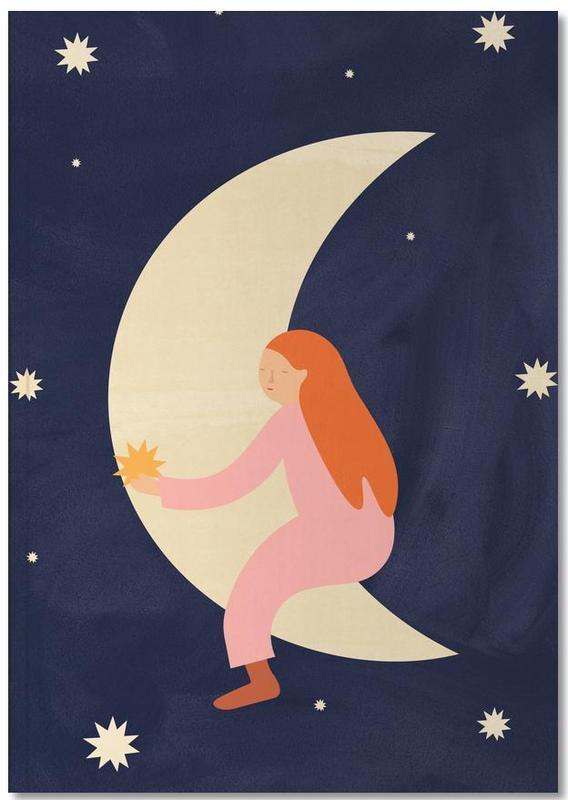Moon, Nursery & Art for Kids, Lullaby Moon Notebook