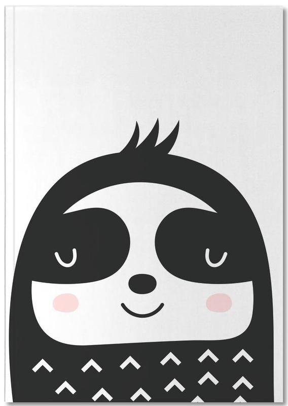 Luiaards, Kunst voor kinderen, Happy Sloth Notebook