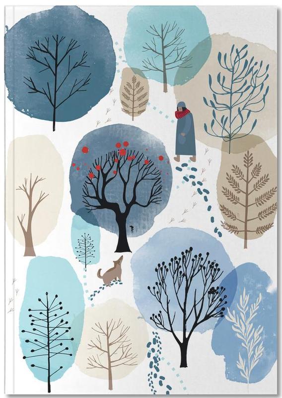 Forêts, Arbres, Art pour enfants, Winter Forest Notebook