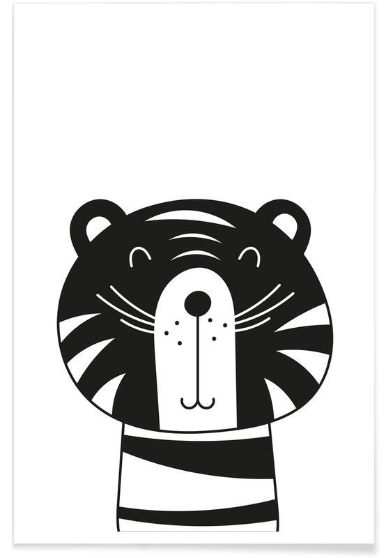 Happy Tiger affiche