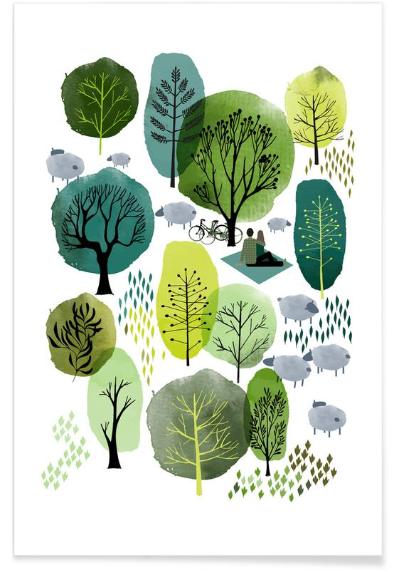 Spring Forest poster