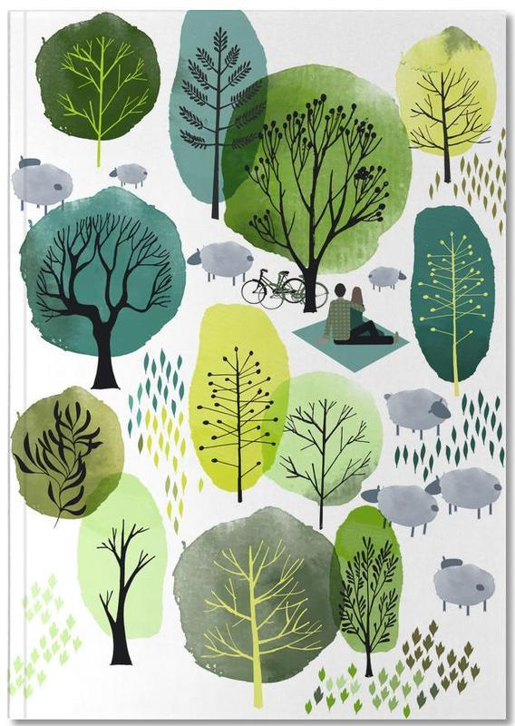 Spring Forest Notebook