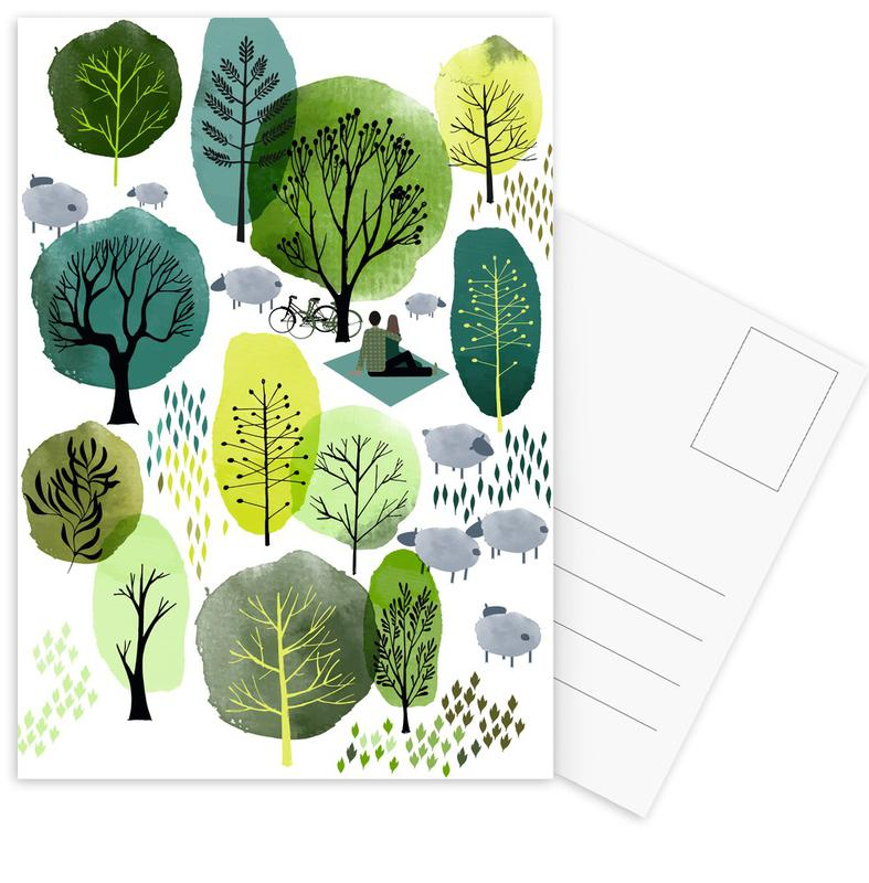 Spring Forest -Postkartenset