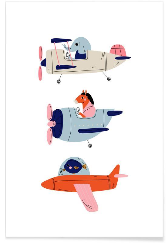 Aeroplane Race II -Poster