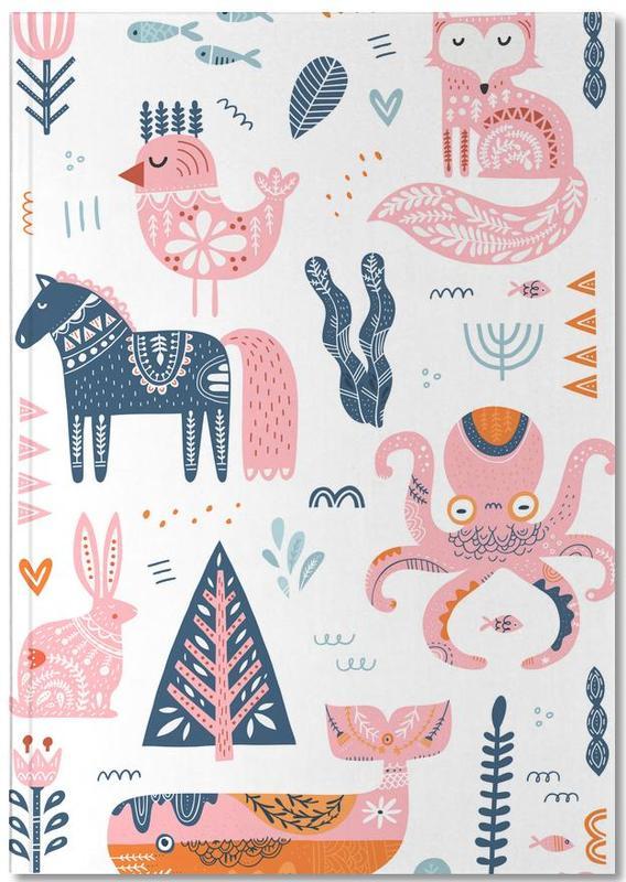 Patchwork Animals Notebook