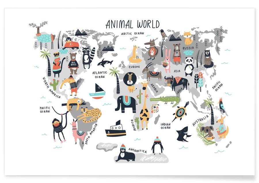 Animal Kingdom Plakat