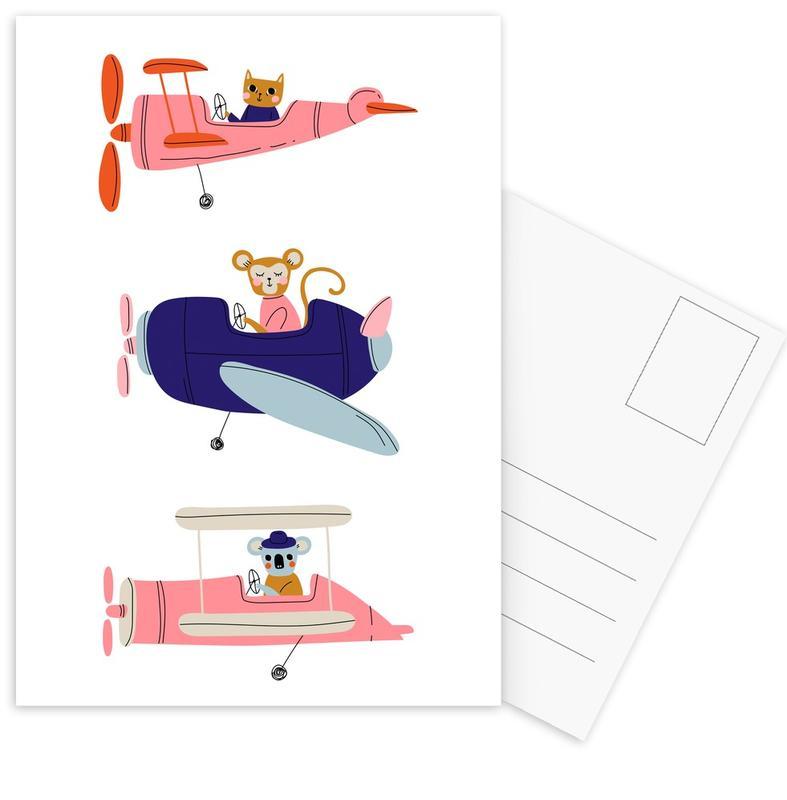 Aeroplane Race III -Postkartenset