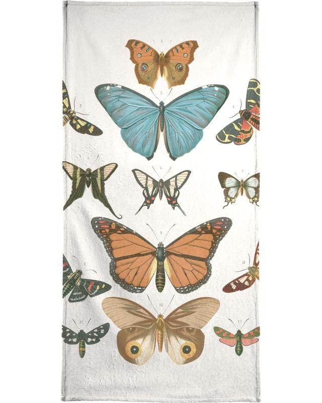 Vlinders, Butterflies strandlaken