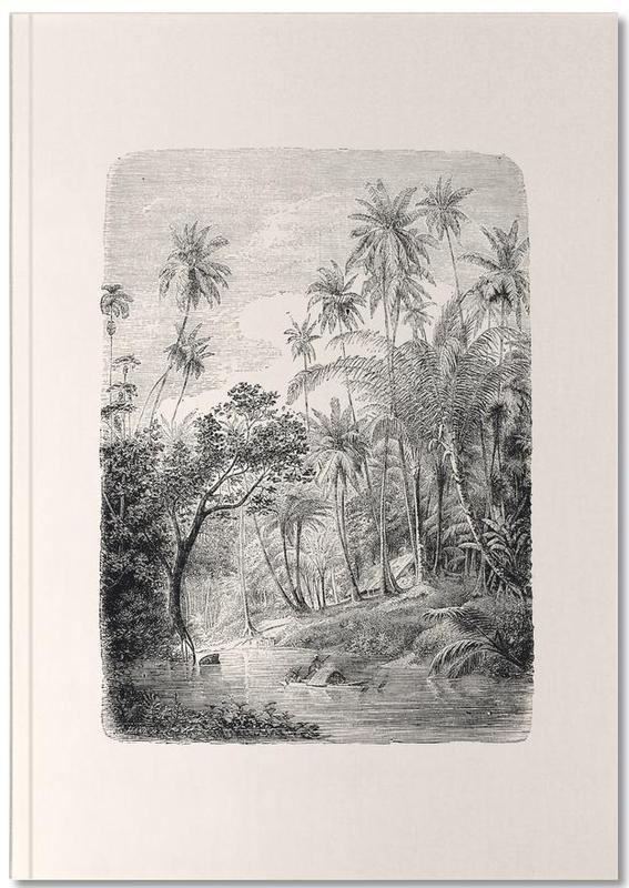 Forêts, Arbres, Palmiers, Sri Lanka Notebook