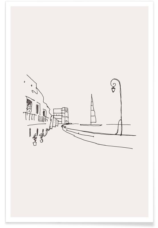 Rejser, Monaco Plakat