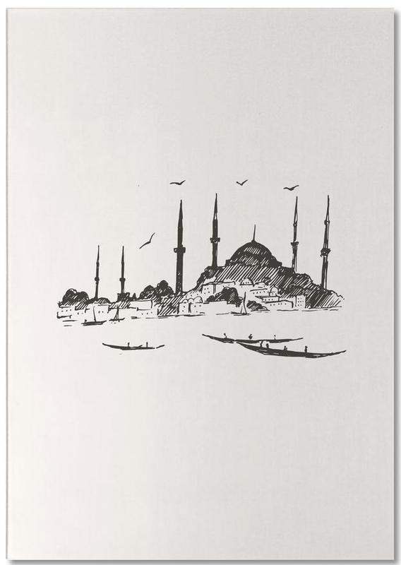 Monuments et vues, Istanbul, Voyages, Istanbul bloc-notes