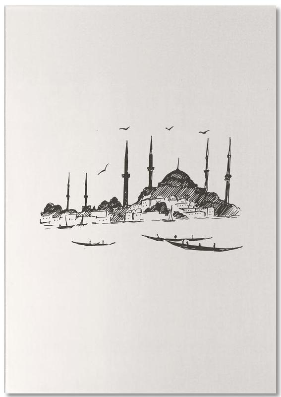 Istanbul -Notizblock