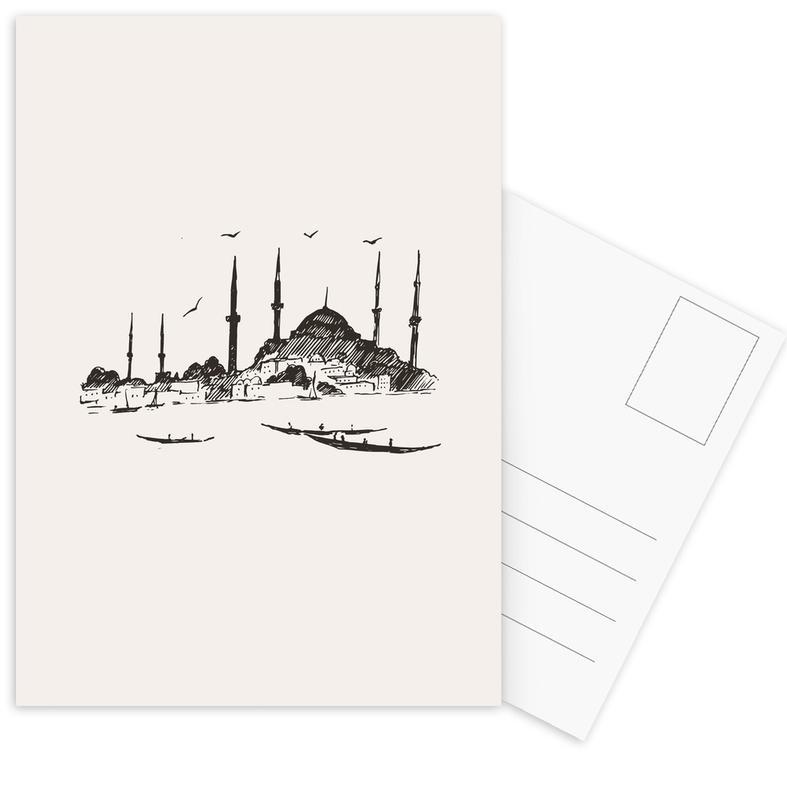 Istanbul -Postkartenset