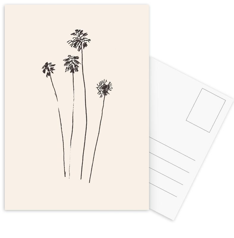 Palm Silhouettes -Postkartenset