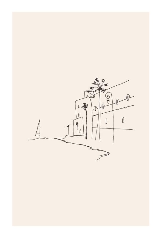 Monaco II Acrylic Print