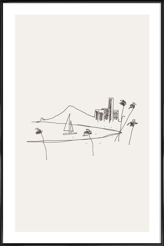 Hawaii Framed Poster