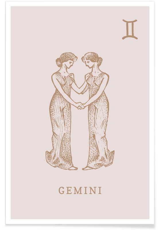 , Gemini Plakat