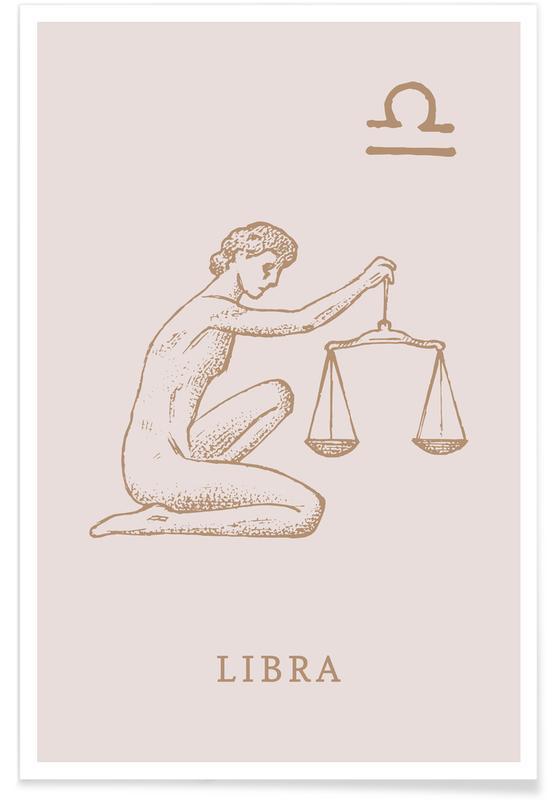 , Libra póster