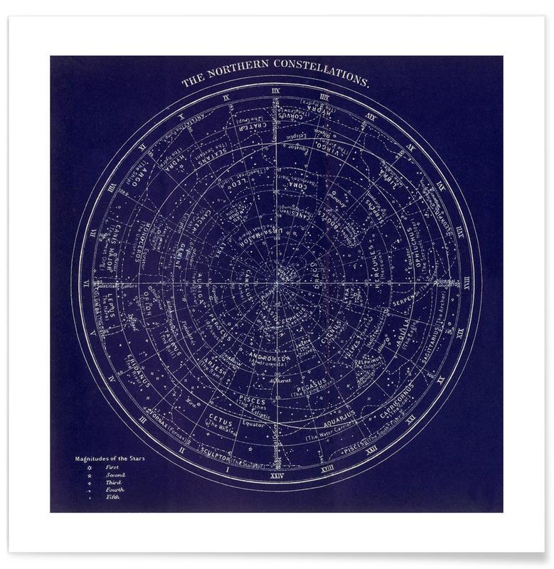 , Northern Constellations Plakat