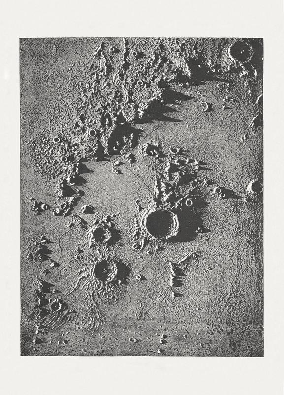 Moon Crater II Canvastavla