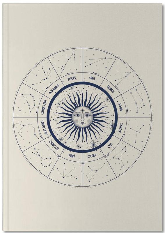 Astrology Chart Notebook
