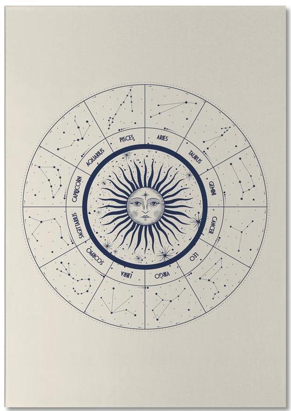 Astrology Chart -Notizblock
