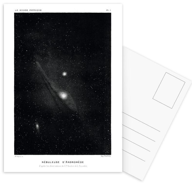 Le Monde Physique -Postkartenset