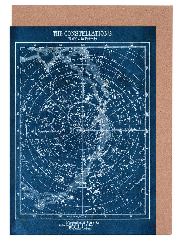 , Constellations -Grußkarten-Set