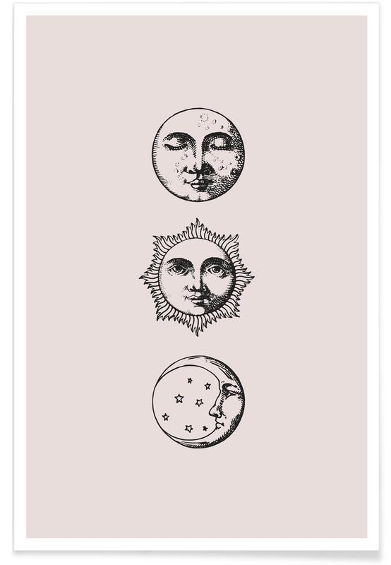 Lune, Night and Day affiche