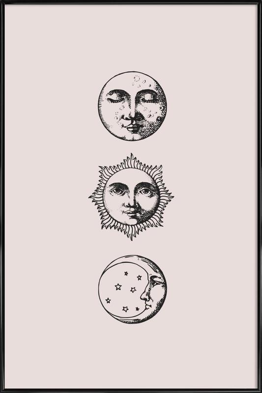 Night and Day Poster i standardram