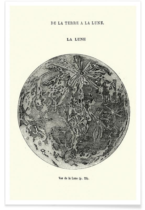 Lune, La Lune affiche