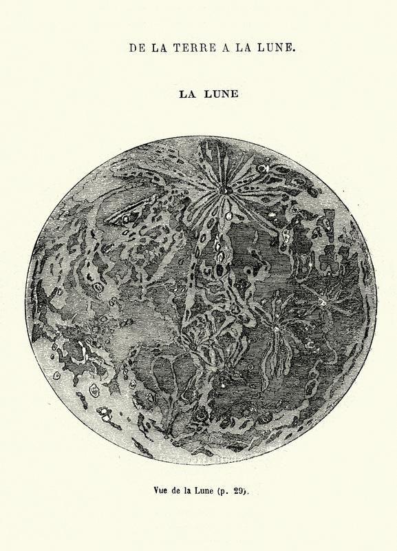 La Lune Canvastavla