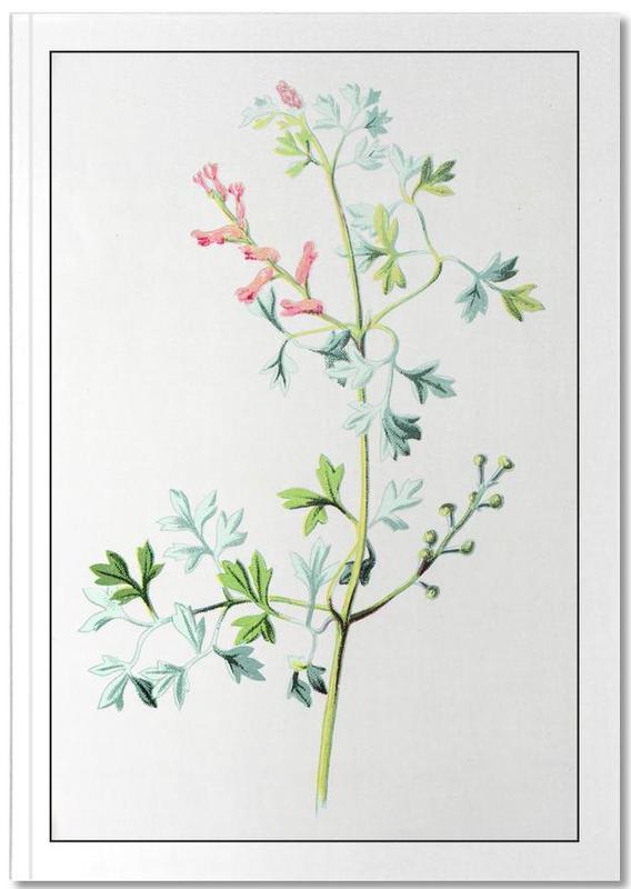 , Antique Floral Notebook