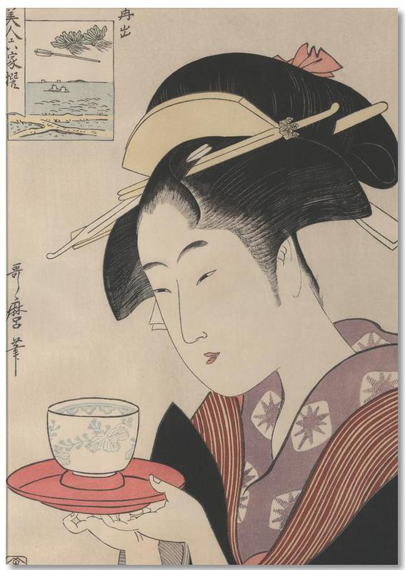 Geisha Notepad