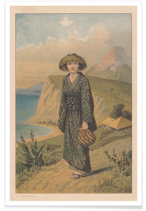 , Japanese Fairytale póster