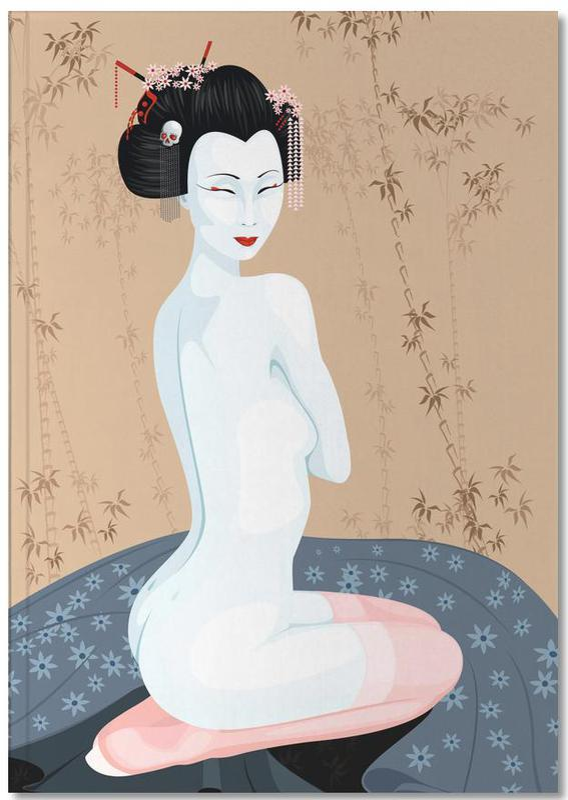 , Geisha Nude Notebook