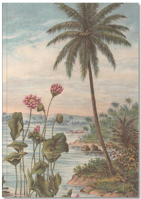 Couchers de soleil, Lotus Flowers Notebook