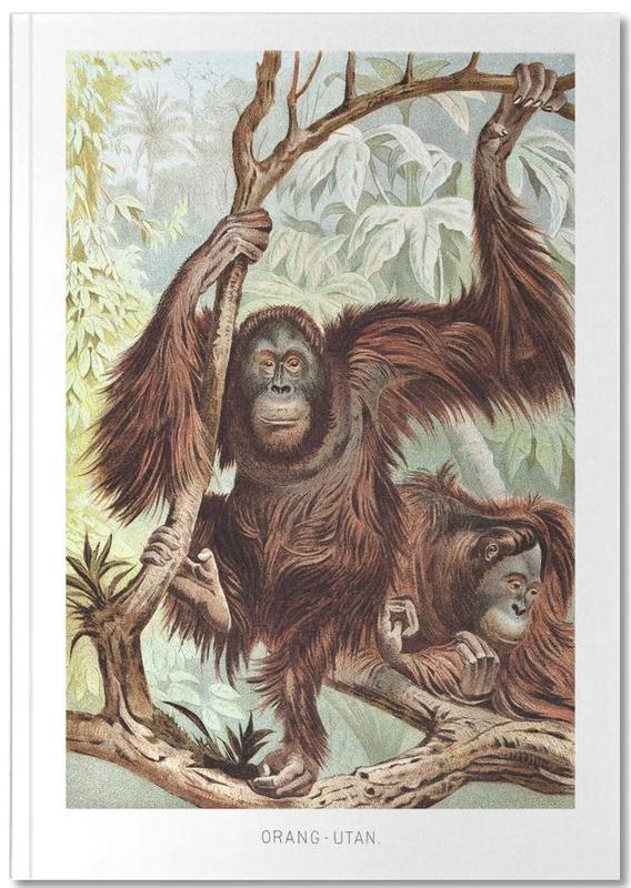 Singes, Orangutan pair Notebook