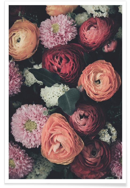 Vintage Bouquet affiche