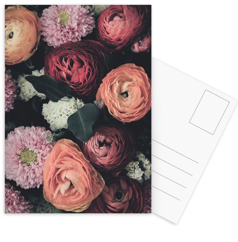Vintage Bouquet -Postkartenset
