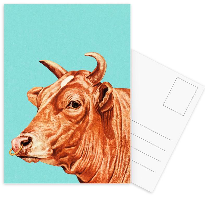 Kühe, Deja-Moo III -Postkartenset