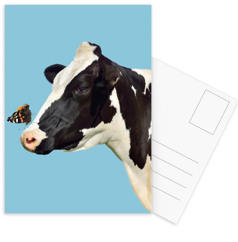 Kühe, Small And Mighty -Postkartenset