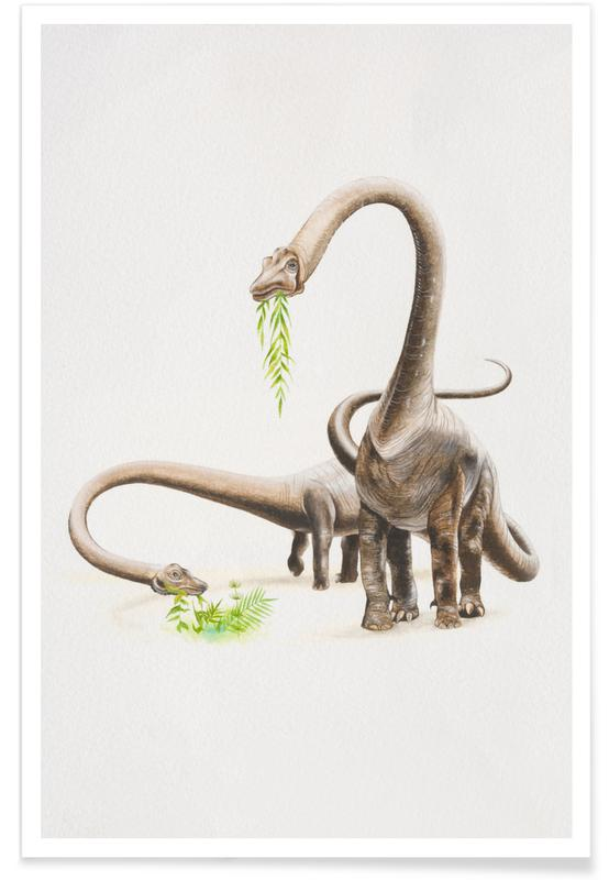 Dinosaurussen, Herbivores poster