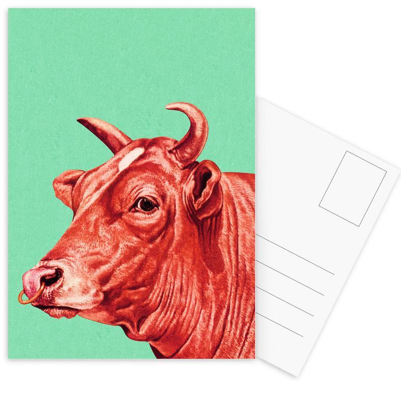 Kühe, Deja-Moo II -Postkartenset