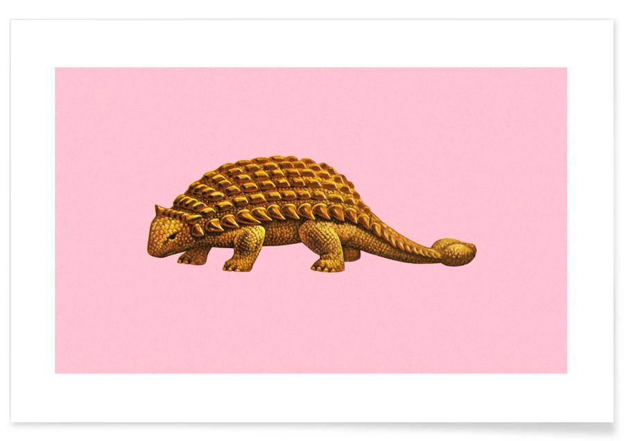 Dinosaurussen, Ankylosaurus poster