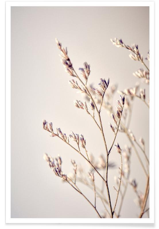 , Purple Buds Poster